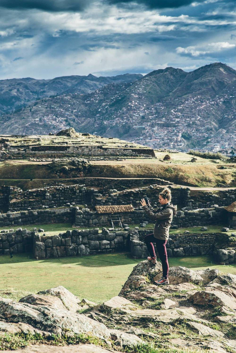 My Canon and I at Sacsayhuaman in Peru
