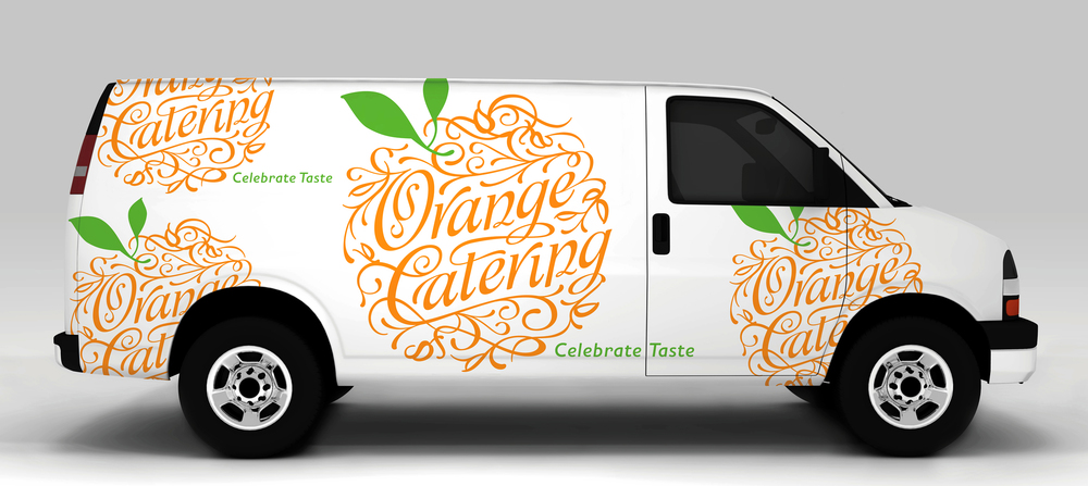 Orange Catering | Identity featured in  How  and  Novum