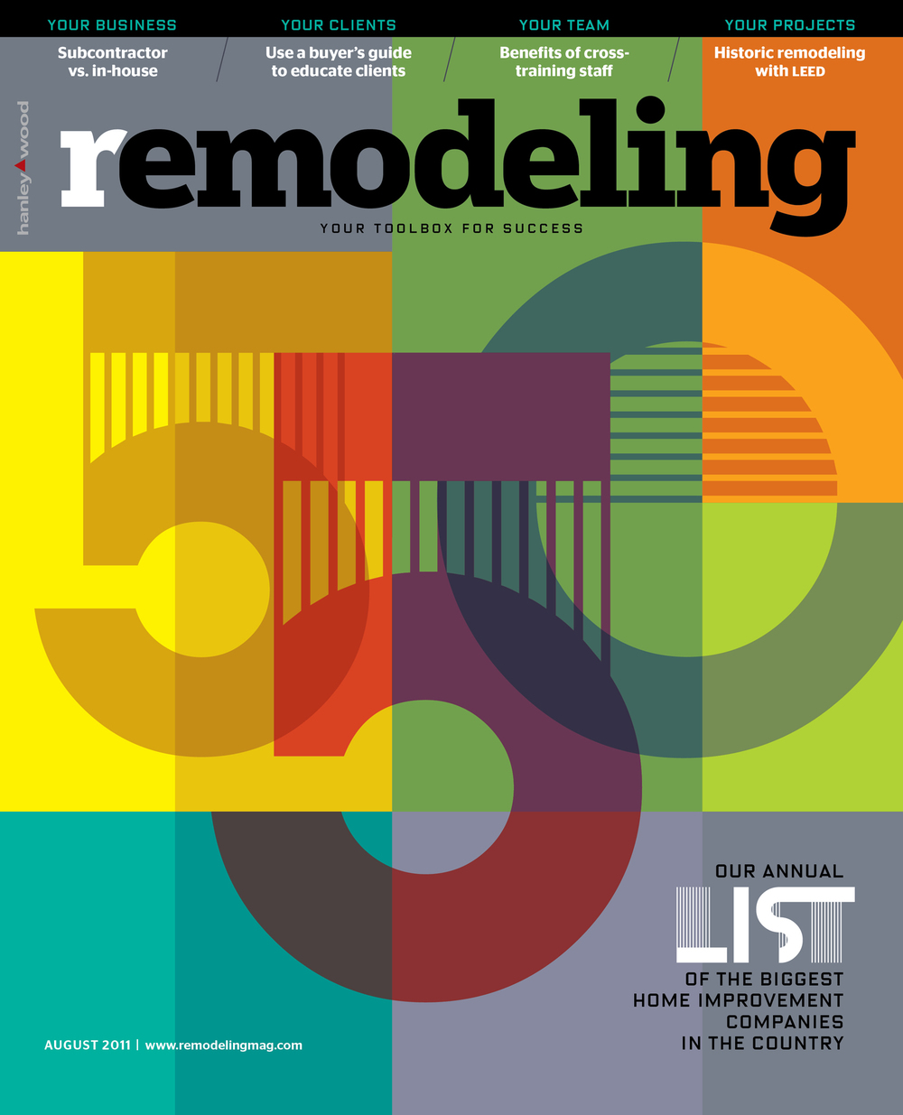 Remodeling Magazine | cover design for special issue