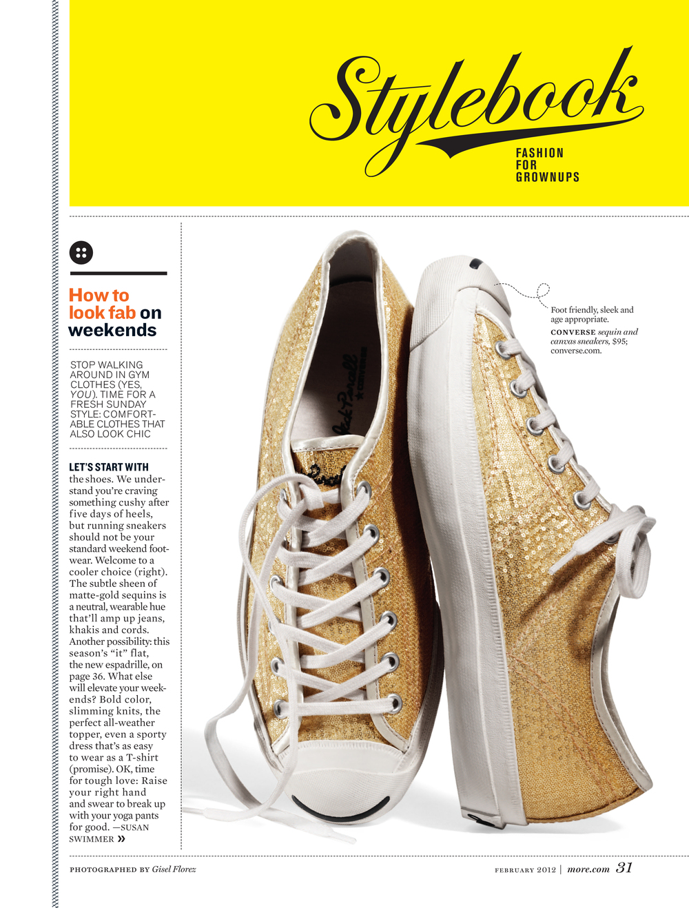 More Magazine | custom ''Stylebook'' type