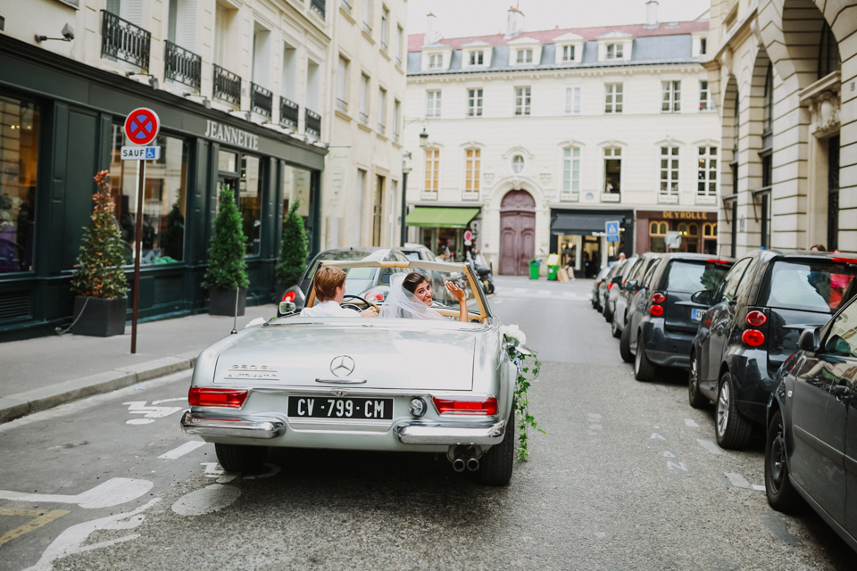 Goly + Charles Paris - Mariage