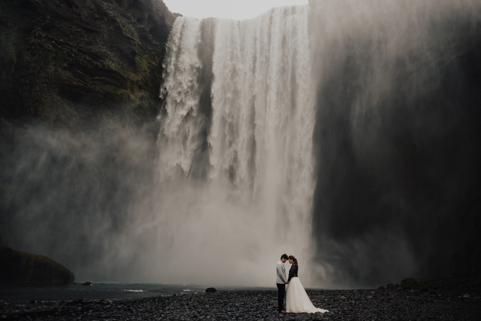 Lisha + Deliang Iceland - Prewedding