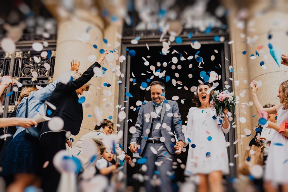 Béatrice + Bruce Suresnes - Wedding
