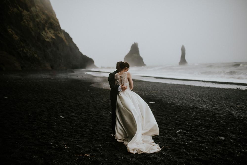 intimate iceland wedding photographer in iceland