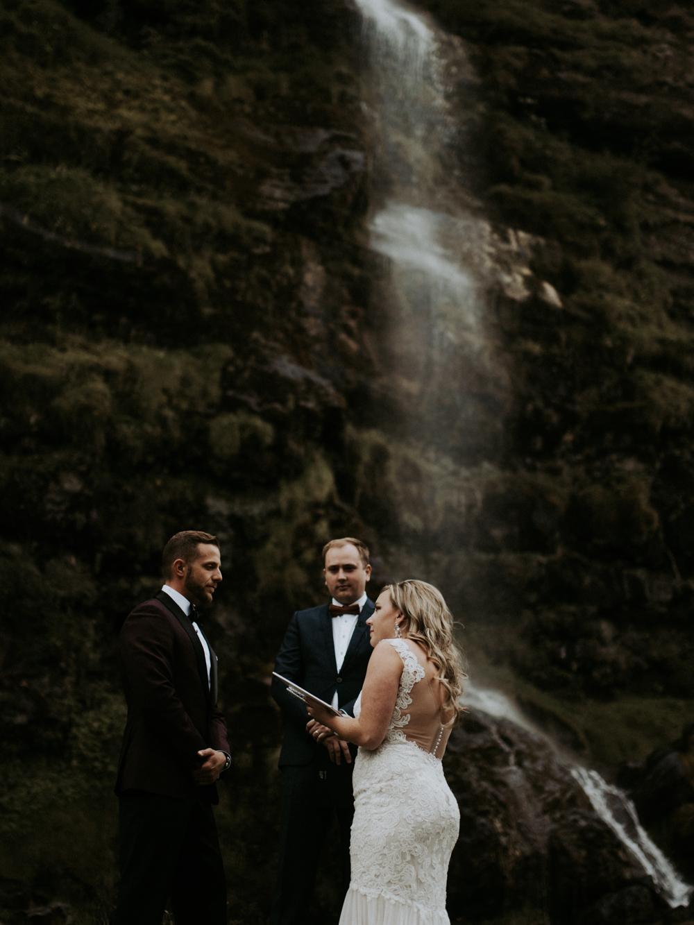 iceland wedding ceremony