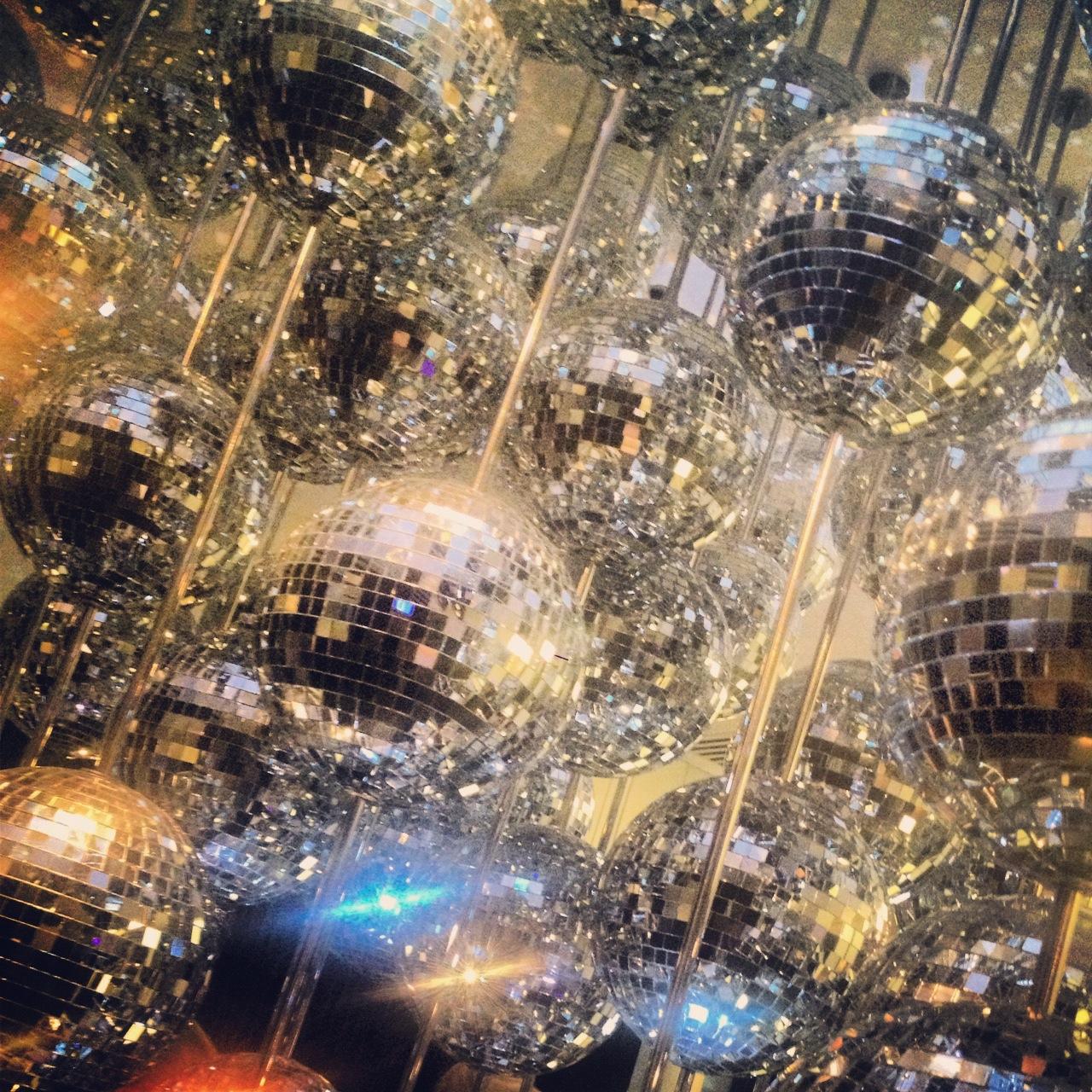 Disco balls W Hotel London