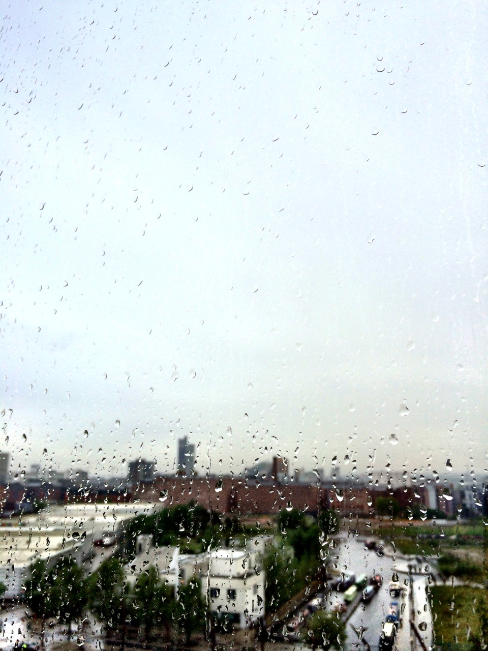 Raindrops over ancoats