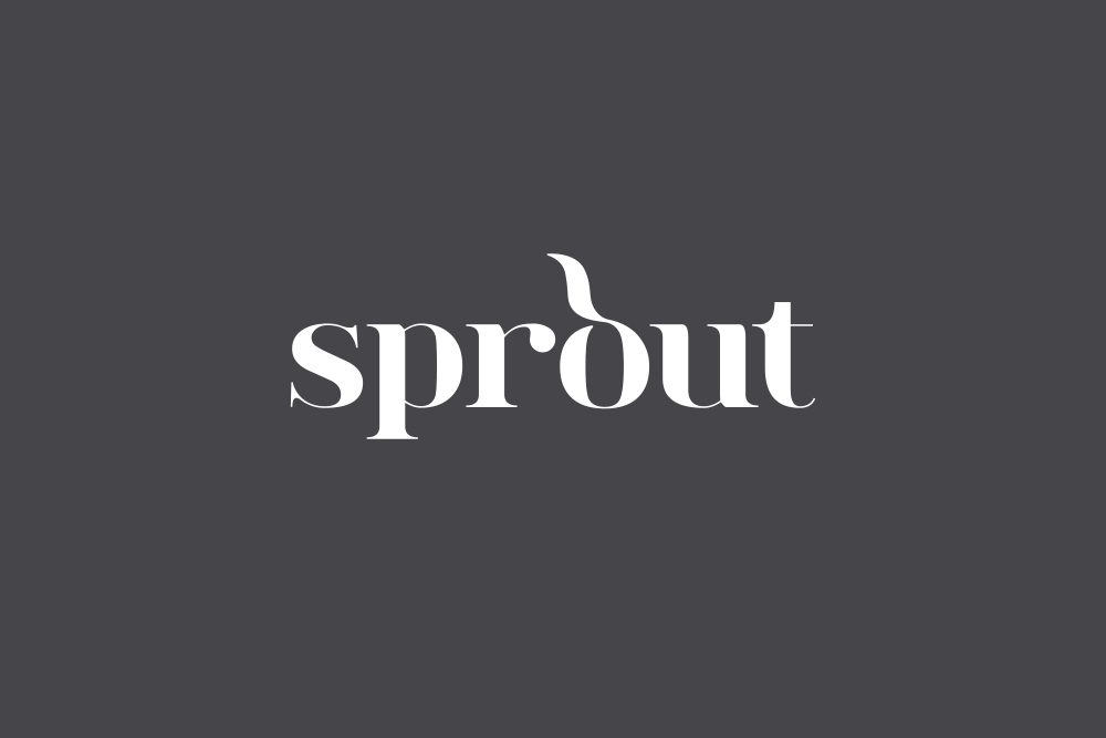 Sprout logo Salt Design