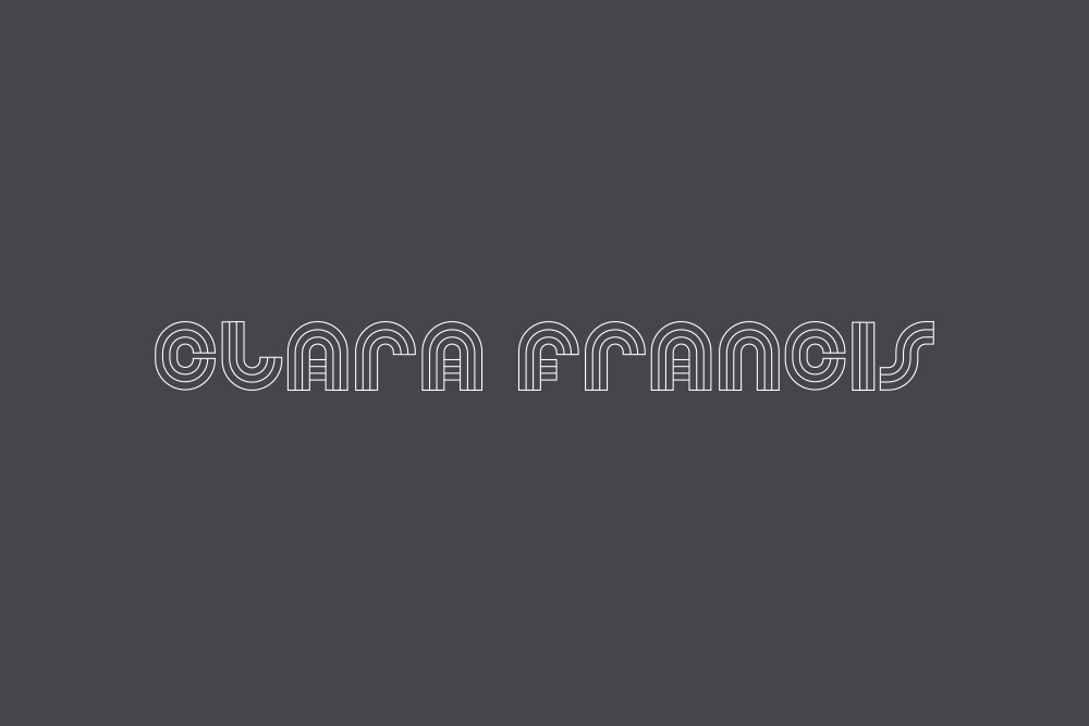 Clara Francis Jewellery logo Salt Design