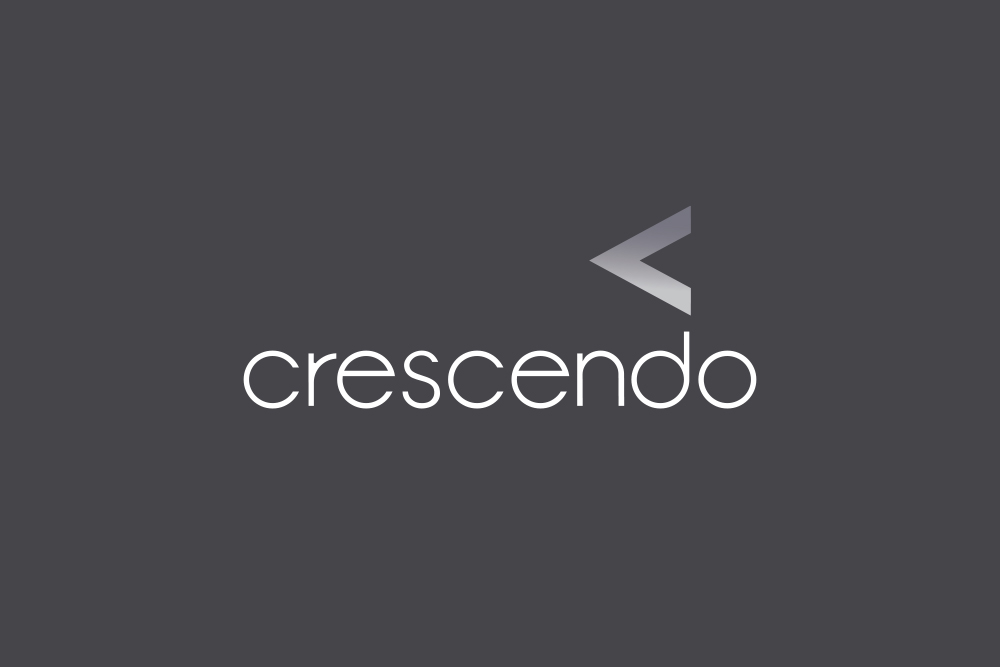 Crescendo Consulting logo Salt Design