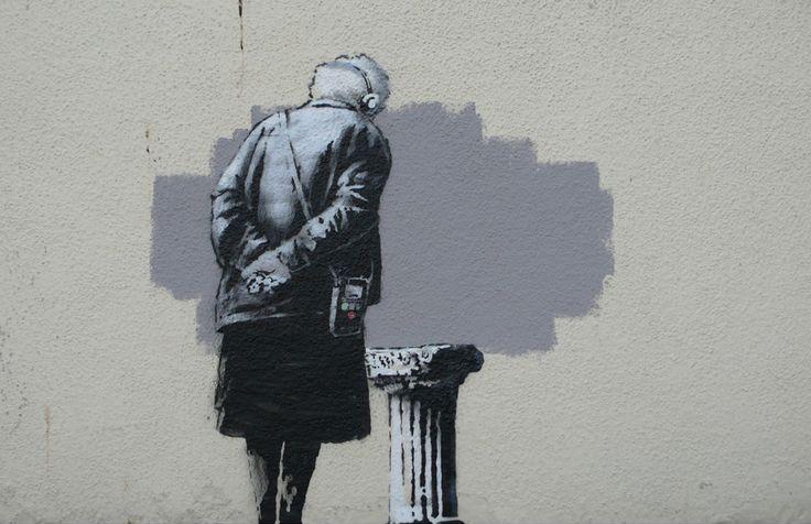 Art Buff : Banksy : Folkestone 2014