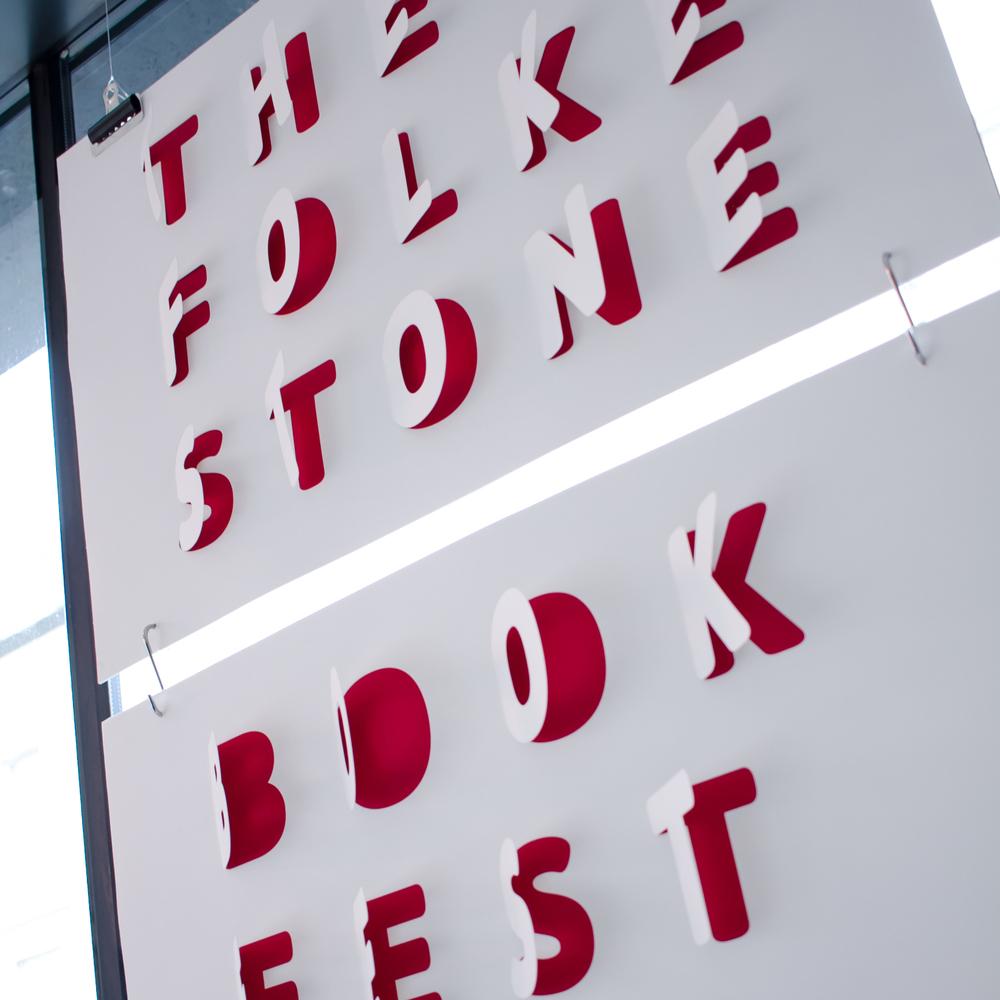 Salt Folkestone Book Festival poster