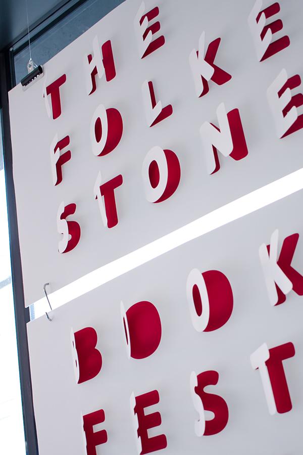 Salt Design - Folkestone Book Festival poster