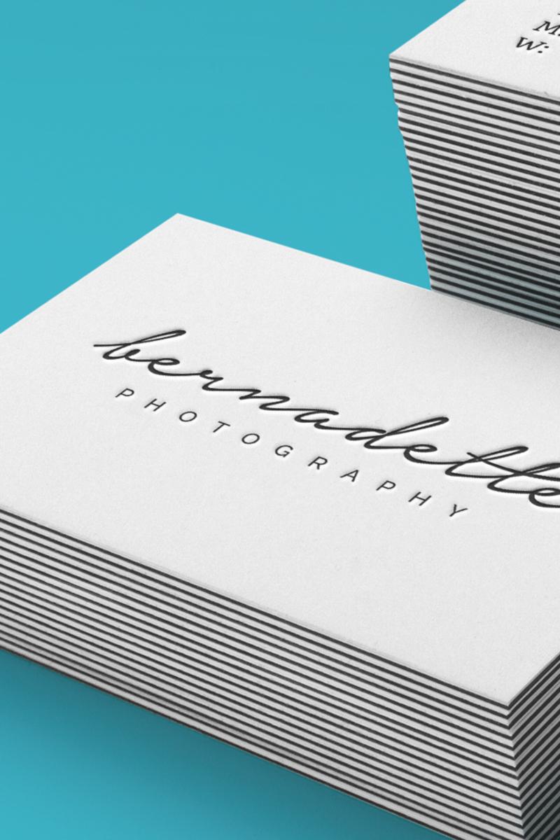 Salt Design - Bernadette Baksa photographer brand identity