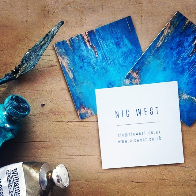 Salt design - Nic West artist brand identity