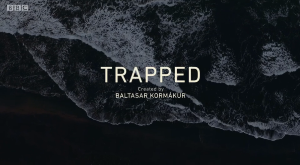Salt loves blog - Trapped BBC4 title sequence