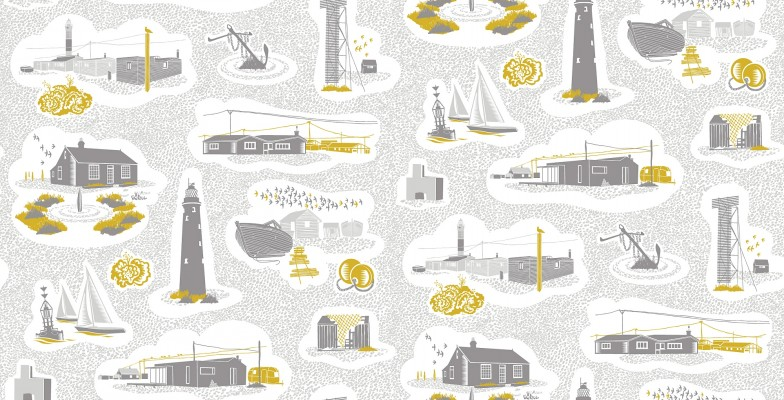 Dungeness Wallpaper – Mini Moderns