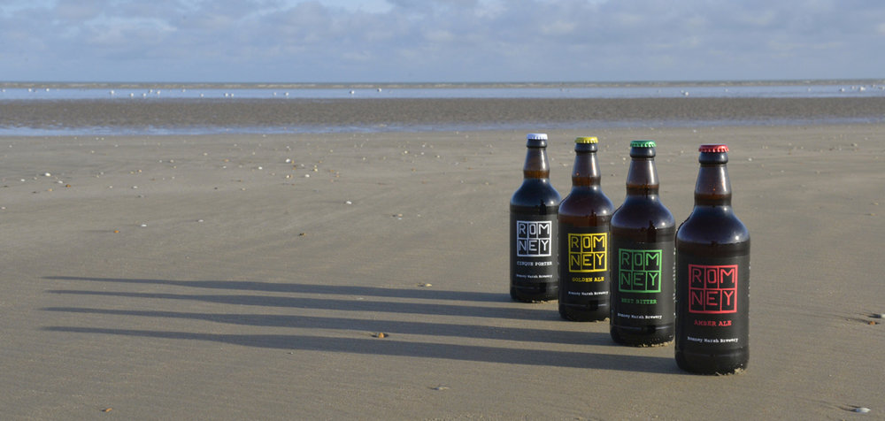 Romney Marsh Brewery packaging