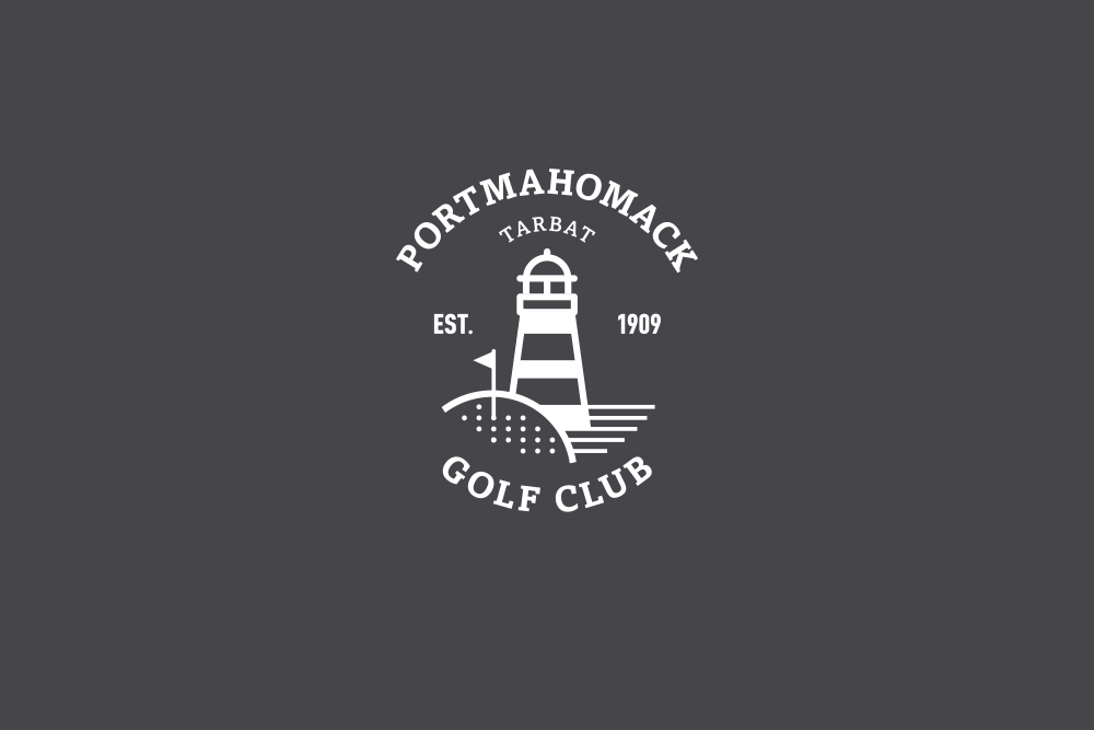 Portmahomack Golf Club logo Salt Design