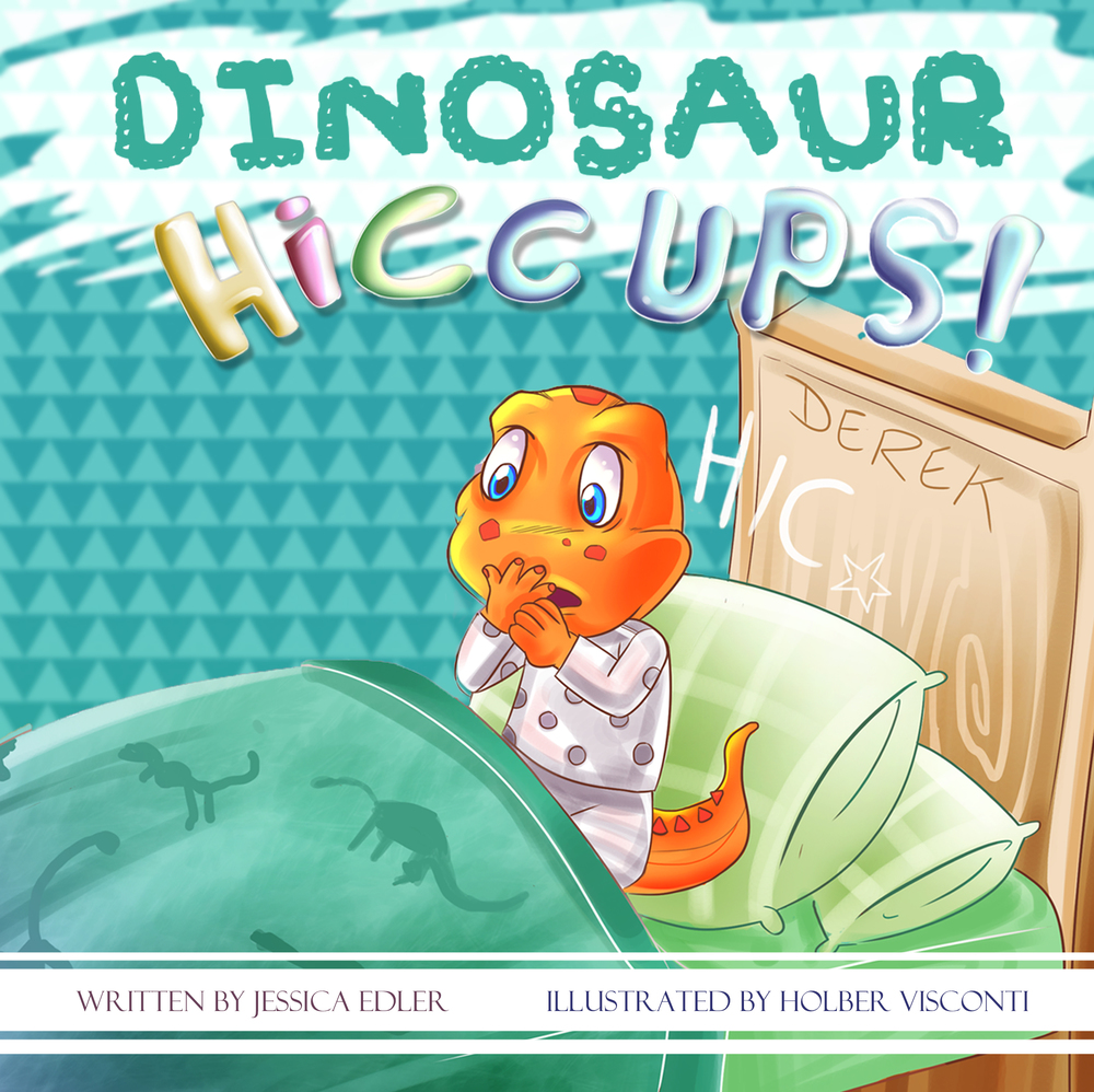 Dinosaur Hiccups Cover