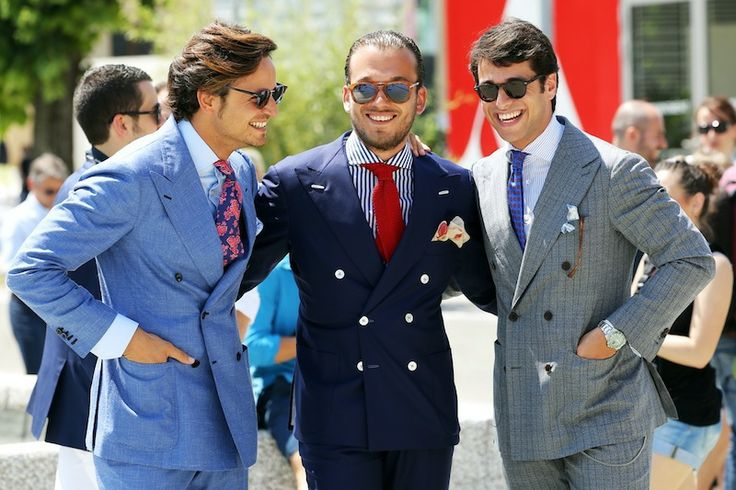 A Double Breasted Suit and how to style around it. — Image ...