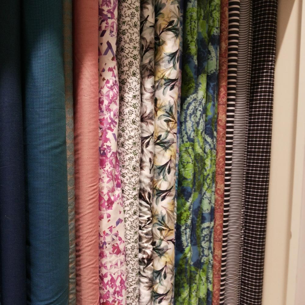 An Array of Printed Fabrics