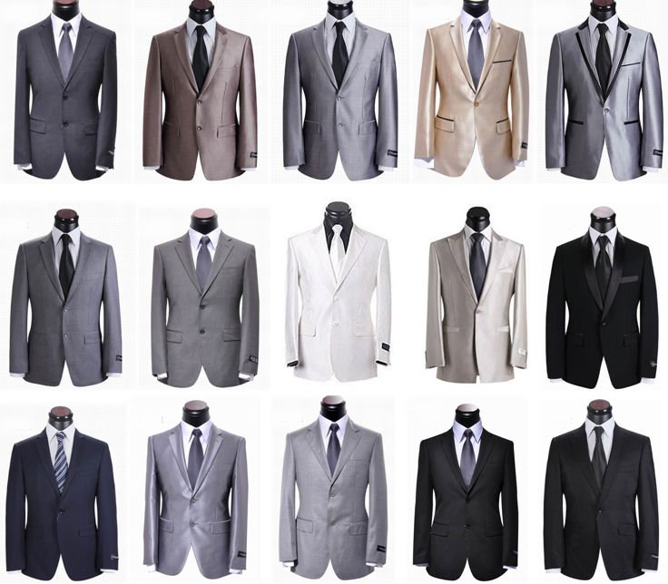 Different types of suits for men