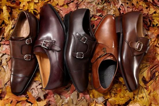 Double monks strap shoes for men_iammr