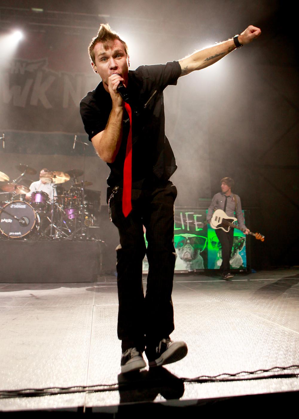 Seth Morrison performing live