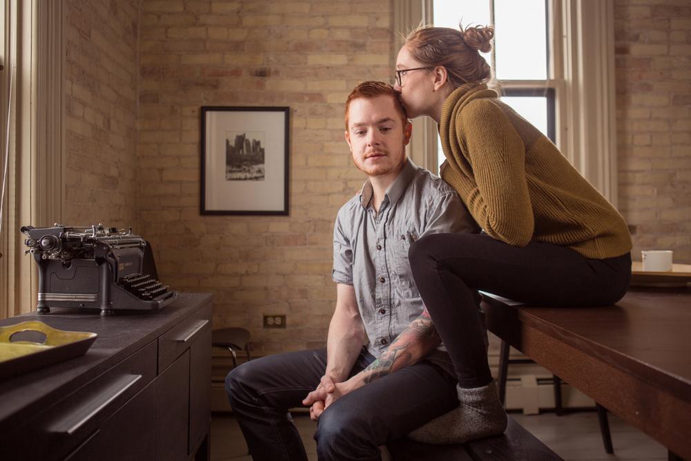 Aaron Van Timmeren and Erin Keener