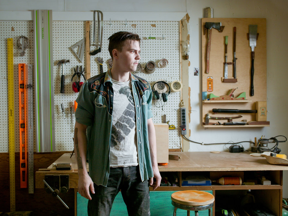 Josh McVety, furniture designer