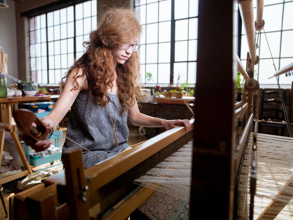 Megan Roach of Adventure Textiles