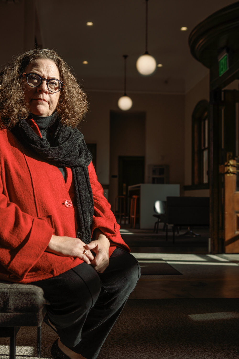 Gayle DeBruyn, the chair of Collaborative Design and Furniture/Design Studies Programs at KCAD is a restless intellectual.