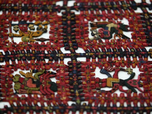 The Swedish city of Gothenburg is in the process of returning 89 Paracas textiles taken illegally out of the country in the 1930s.  (Photo: Andina/Norman Cordova)