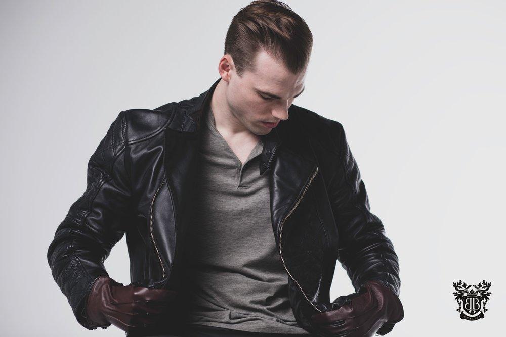 Lantz Leather Jacket $389