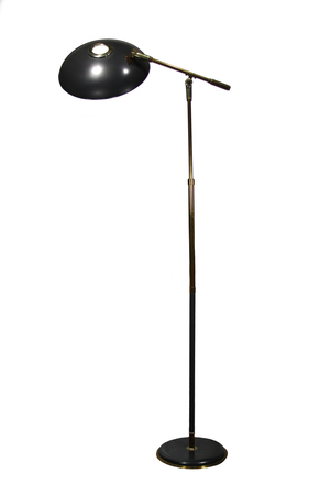 SOLD! Lightolier Floor Lamp Designed by Gerald Thurston — Phat Dog ...