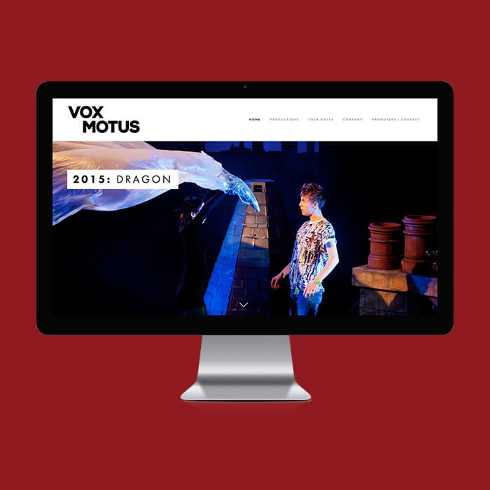 Vox Motus Rebrand