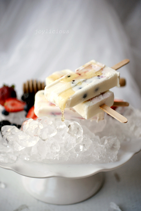 greek yogurt pops