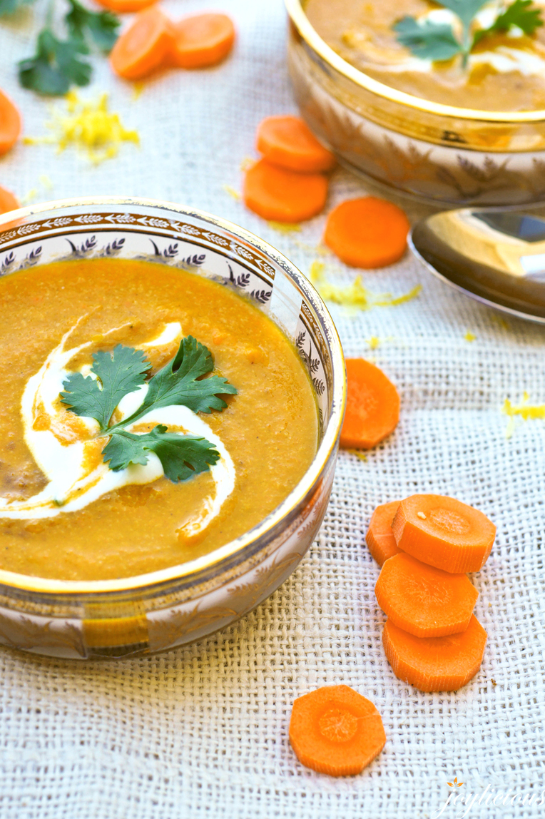 Chilled Spice-Roasted Carrot Soup With Yogurt Recipes — Dishmaps