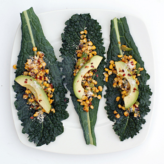 KALE WRAPS WITH ELOTES