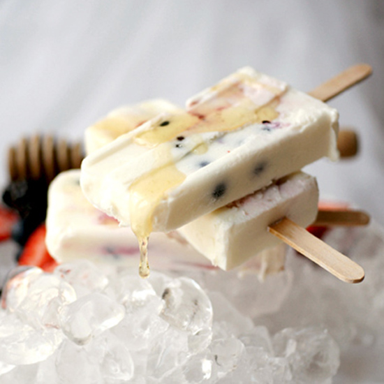HONEY YOGURT BERRY POPS