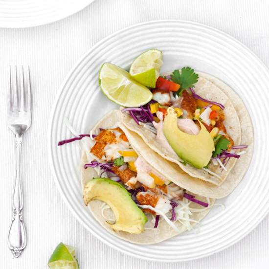 PAN FRIED FISH TACOS