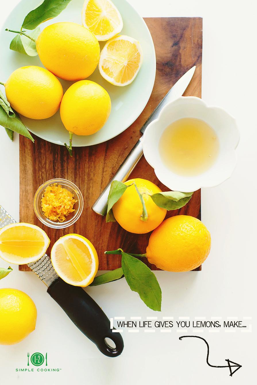 MEYER LEMON CREAM — 1-2 Simple Cooking