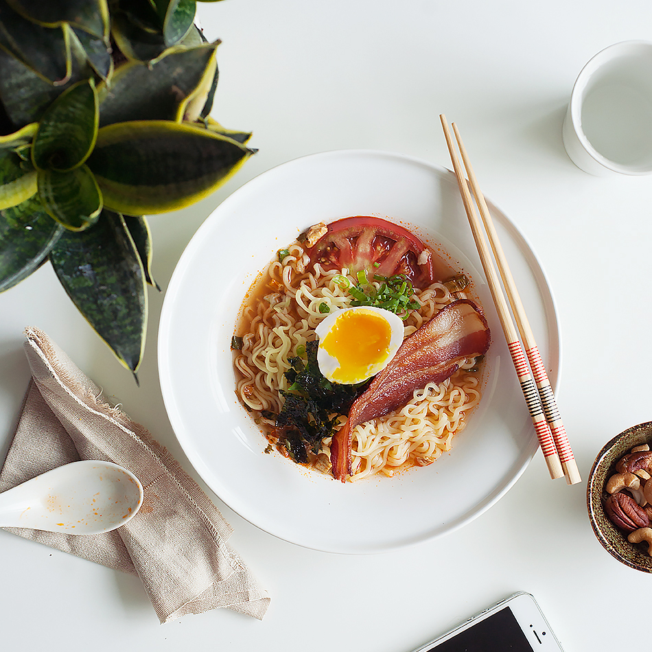 BACON & EGG RAMEN