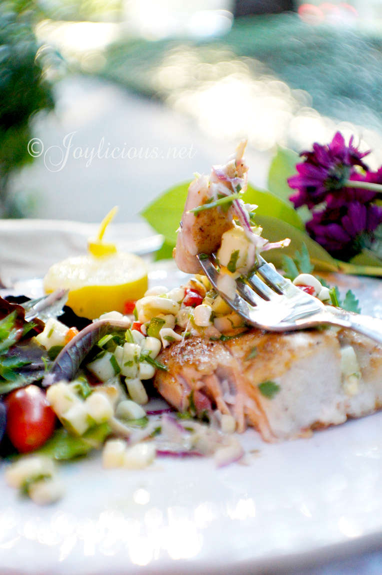 Pan seared mahi mahi 1 2 simple cooking for How long do you cook fish in the oven