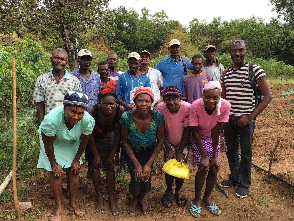 Terre-Salei Agricultural co-op members