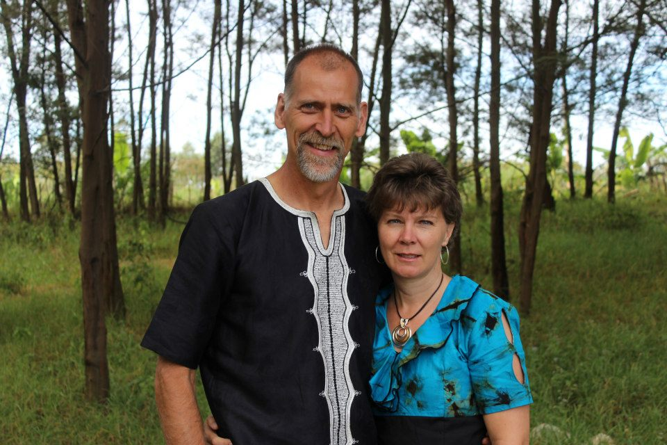 Ted and Brenda Whiteman