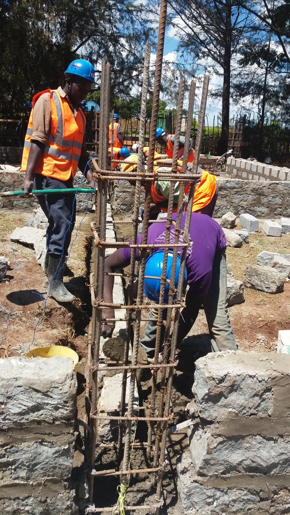 Building a foundation May 2015