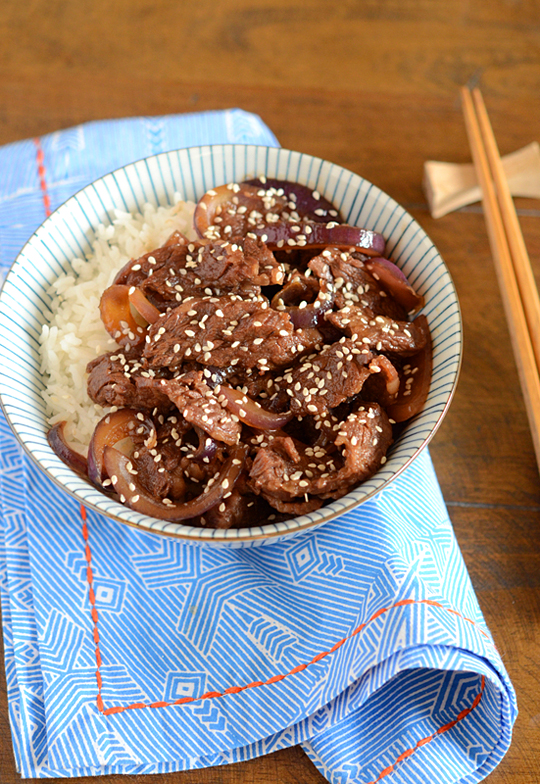 Japanese Beef And Rice Bowl Appetite For China