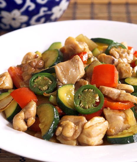 Chinese-Burmese Chili Chicken